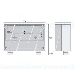 plan alimentation projecteur led piscine