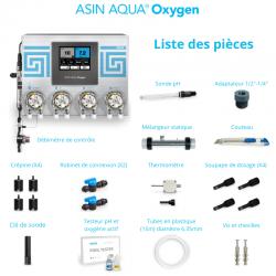régulation oxygène actif et pH connectée contenu
