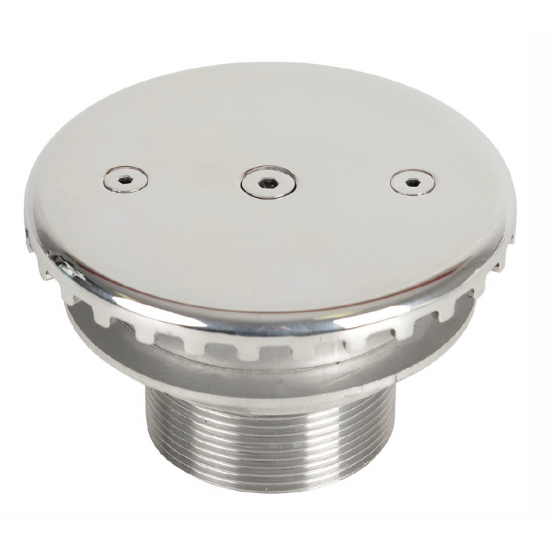 Refoulement de fond inox 360° Stainless steel 360° bottom inflow nozzle