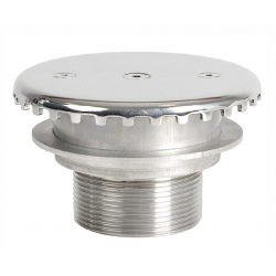Refoulement de fond  Stainless steel 360° bottom inflow nozzle
