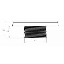 schéma buse de massage inox air-eau multijets Multijets inflow massage nozzle plans