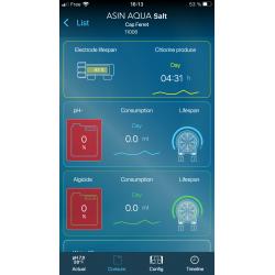 Aseko électrolyseur et régulation ph piscine - Pool Remote