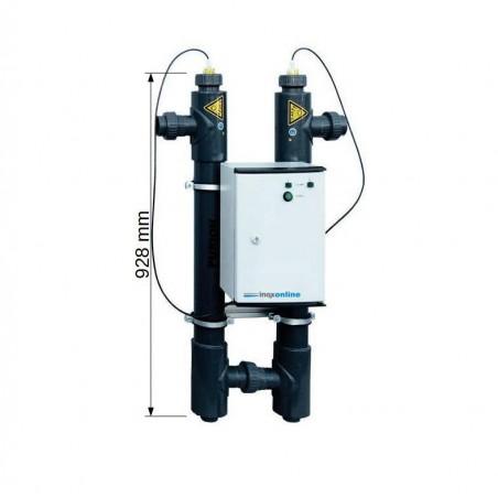 Désinfection UV 2501 DUAL PVC-U